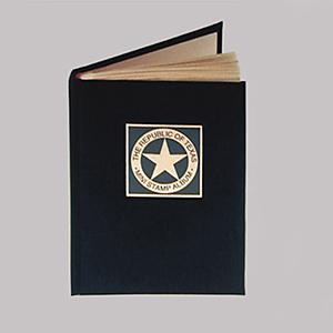 Republic of Texas mini stamp album thumbnail