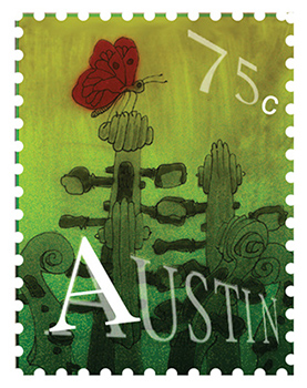 Texas Stamp A