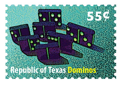 Texas Stamp D