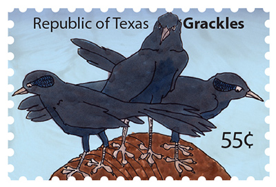 Texas Stamp G