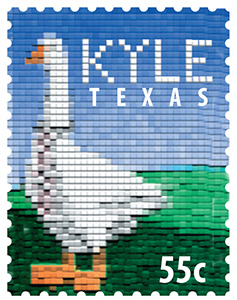 Texas Stamp K