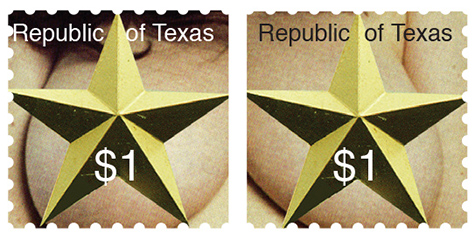 Texas Stamp L
