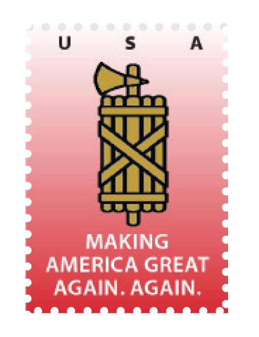 Make America Great Again Stamp