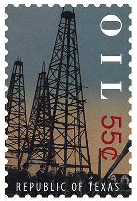 Texas Stamp O