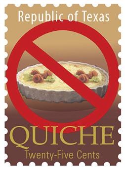 Texas Stamp Q