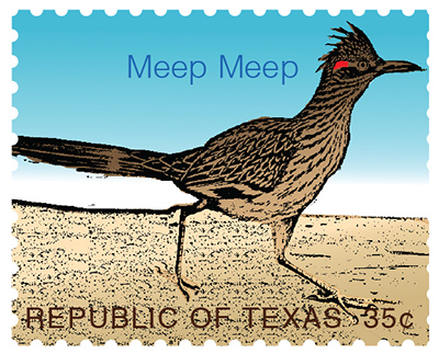 Texas Stamp R