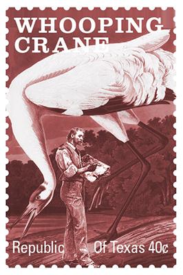 Texas Stamp W