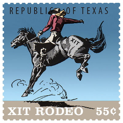 Texas Stamp X