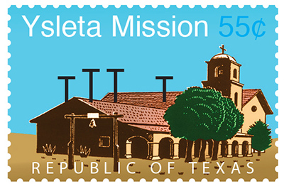Texas Stamp Y